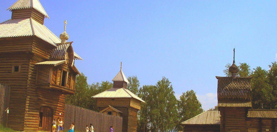 """Архитектурно-этнографический музей """"Тальцы"""""""