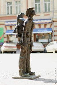 Памятник туристам