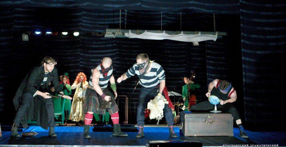 Один из спектаклей Красноярского драмтеатра