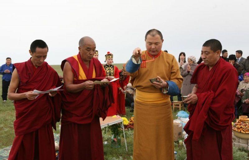 Буддийский храм Цеченлинг