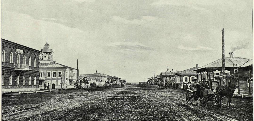 Главная улица, 1899