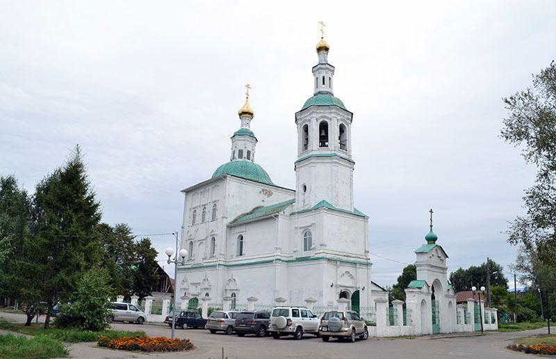 Спасская церковь в Таре