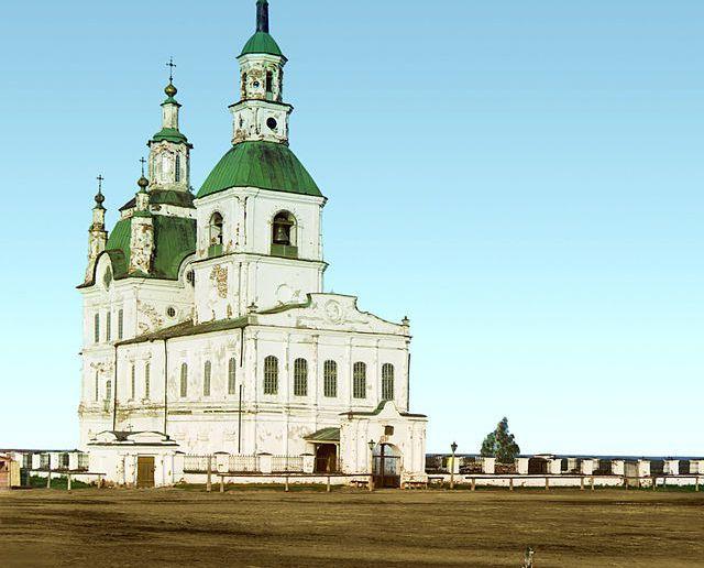 Троицкий собор Ялуторовска в начале XX века