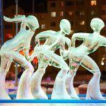 «Полёт мотылька лыжный фристайл» Вячеслав Барышников и Глеб Массалитин, Украина