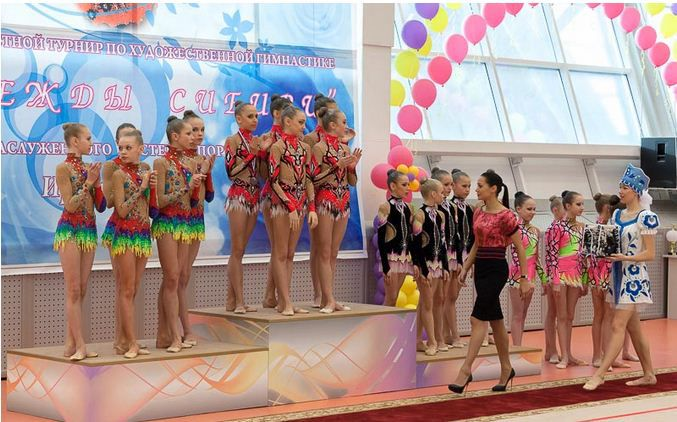 Омские гимнастки