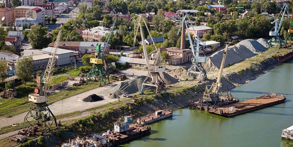 Барнаульский речной порт