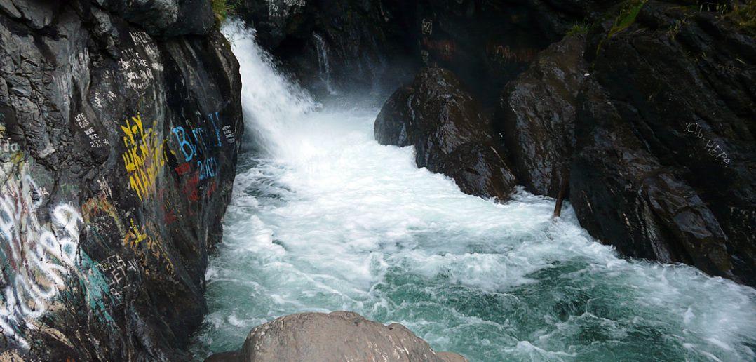 водопад на реке Кынгарга.