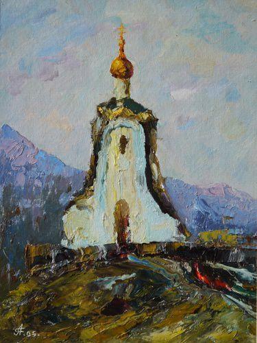 Часовня Александра Невского Источник: www.artlib.ru