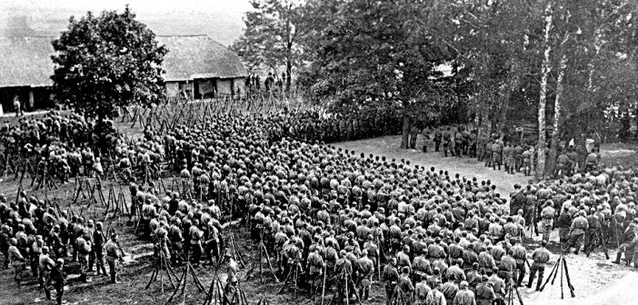 Как сибиряки громили немцев во время Первой мировой войны
