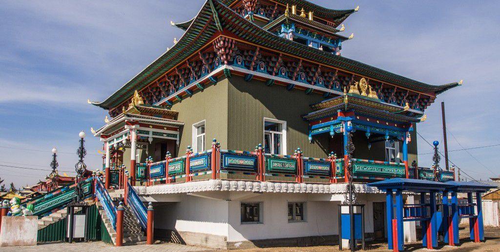 храм зеленой тары