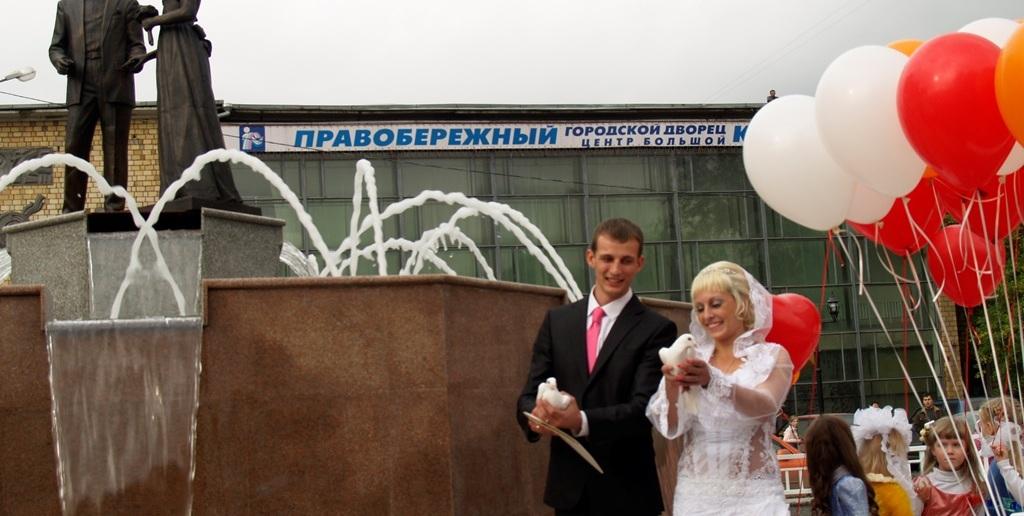 Открытие Площади  влюбленных в Красноярске Источник:http://www.arban.ru/