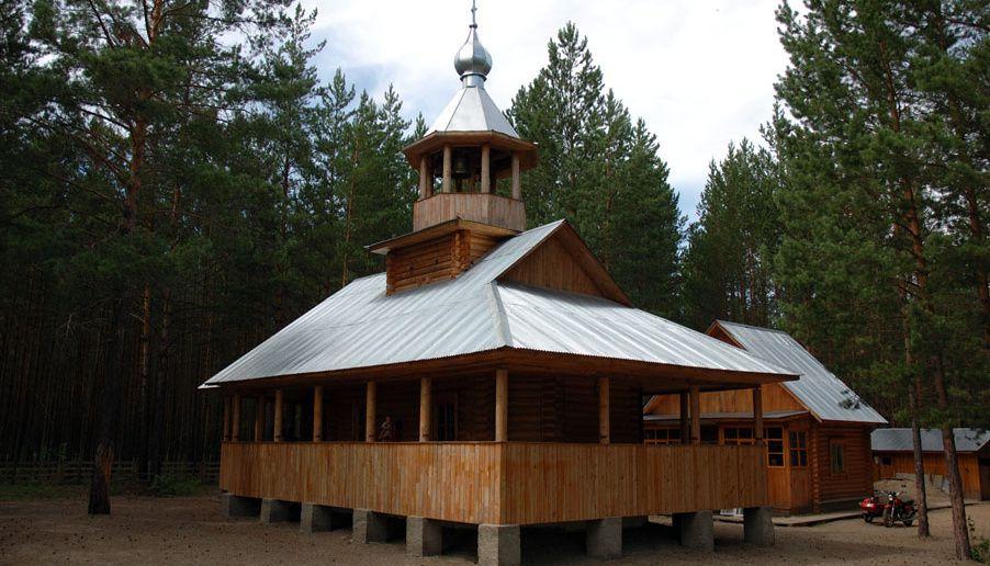 Монастырь у озера Источник: www.zaimkasib.ru