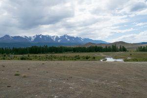 Путь на Северо-Чуйский хребет к ледникам Актру