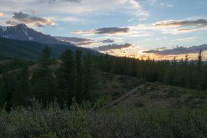 Закат на Перевалке. Республика Алтай. (3)