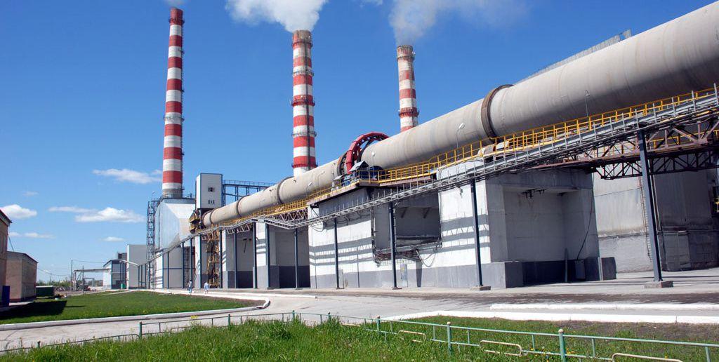 Завод в Сибири
