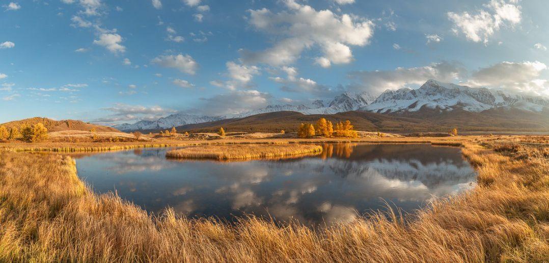 Алтай, осень