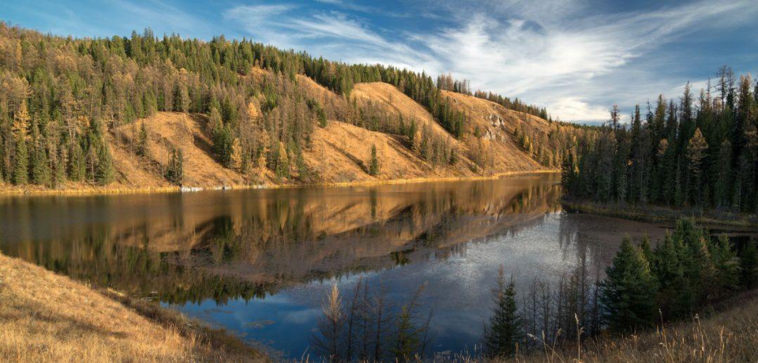 озеро учкель