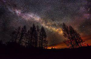 Звездное небо на границе между Забайкальским краем и Республикой Бурятия.