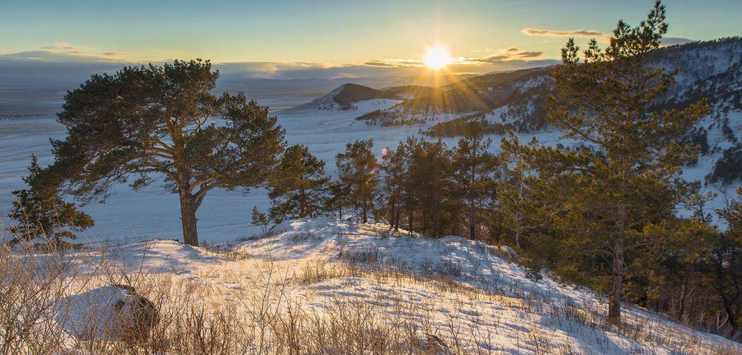 Зима близко... Хакасия. Фото: Александр Макеев.