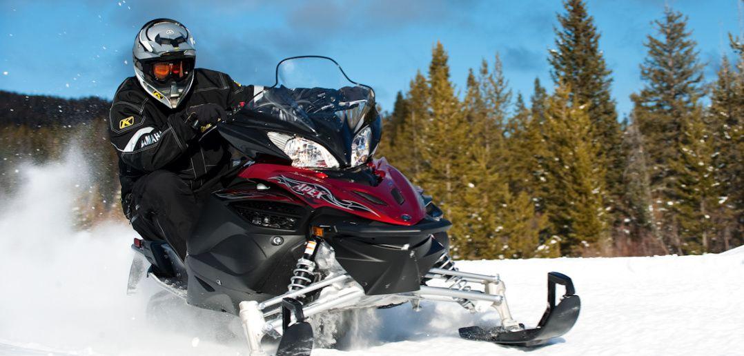 снегоход спортивный