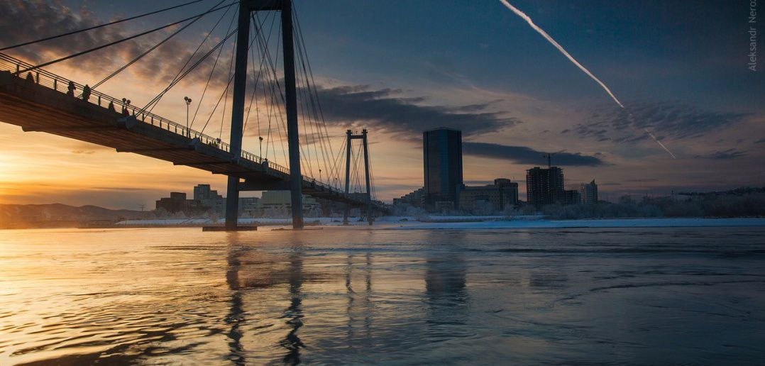 мост, Красноярск, Фото