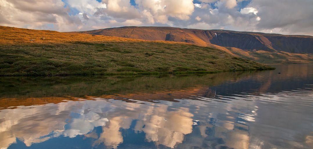 Озеро, Алтай, фото
