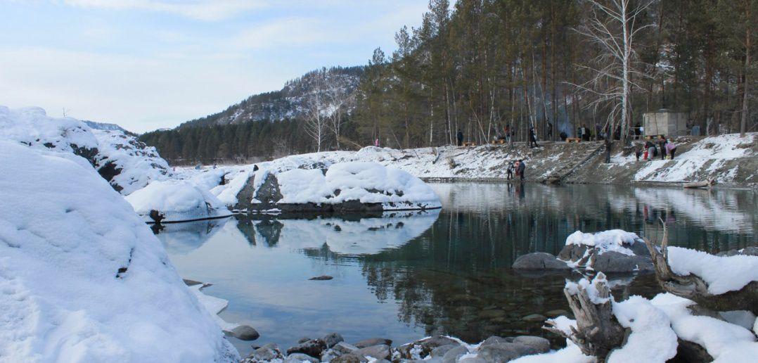 озеро, Катунь, фото