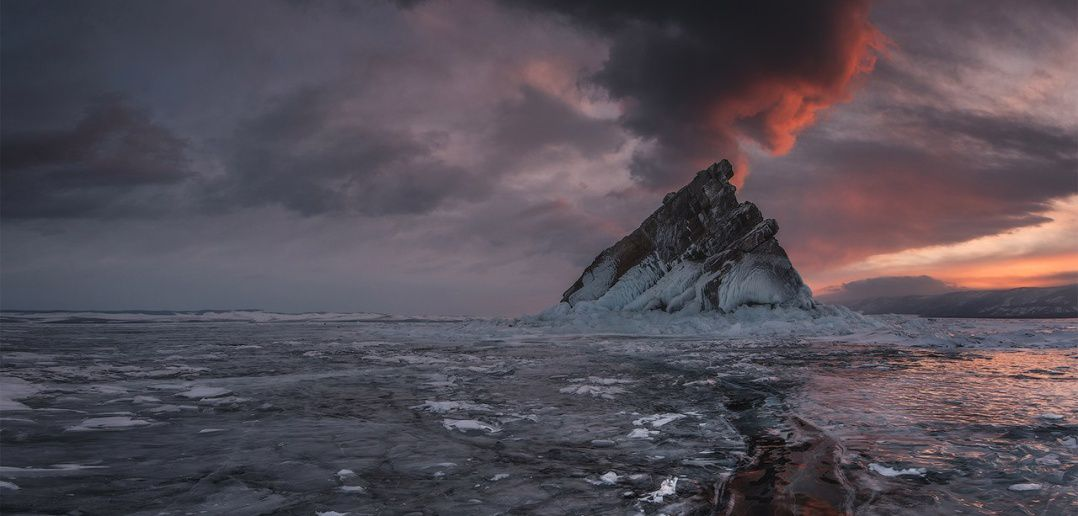 Байкал, вулкан, Малое море, фото