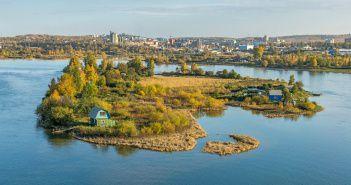 остров Кривой, Иркутск, Фото