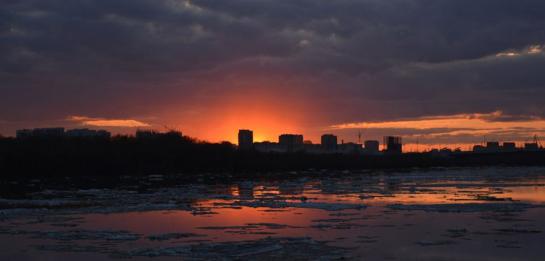 Омск, Иртыш, фото