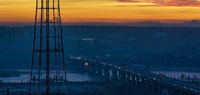 Иркутск, вид на Академический мост Фото: Юлия Кузенкова