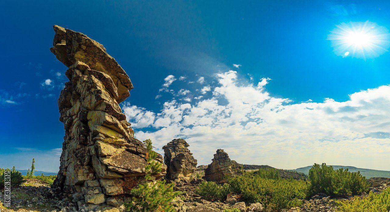 Харашибирские столбы, Бурятия, Фото