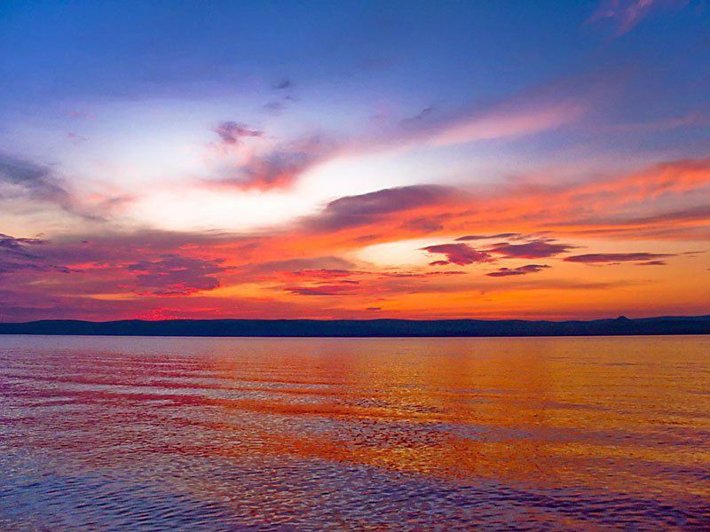 Озеро Белё, Хакасия, Фото
