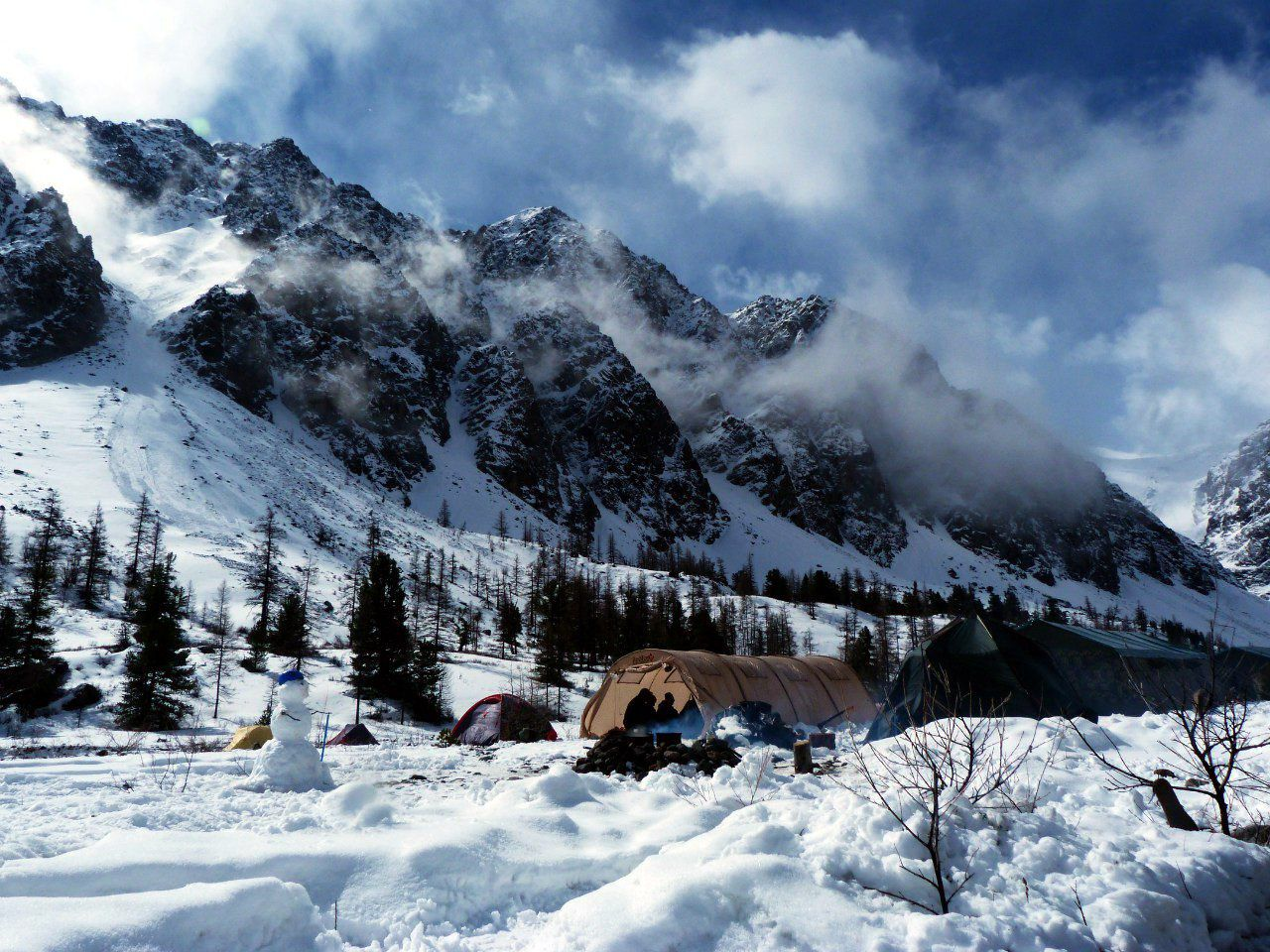 Алтай, ущелье Актру, фото