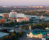 Открыточный весенне-утренний Омск  фото: Алексей Голубев