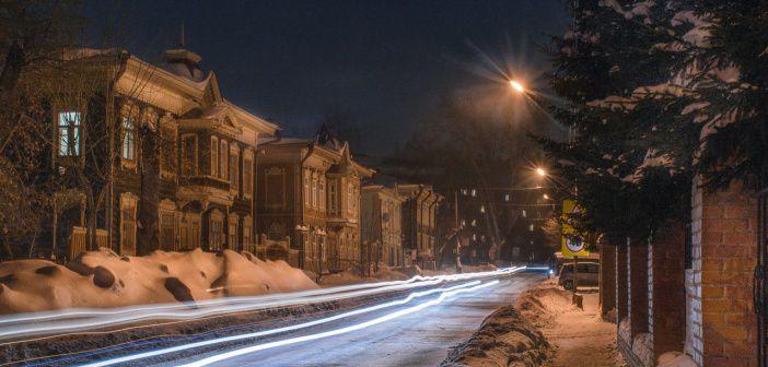 Великолепие ночного Томска Фото: Хомченко Денис