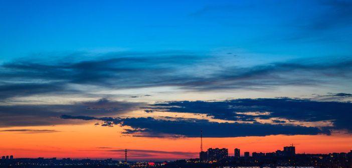 Ночной Иркутск  Фото: Евгений Пономарёв