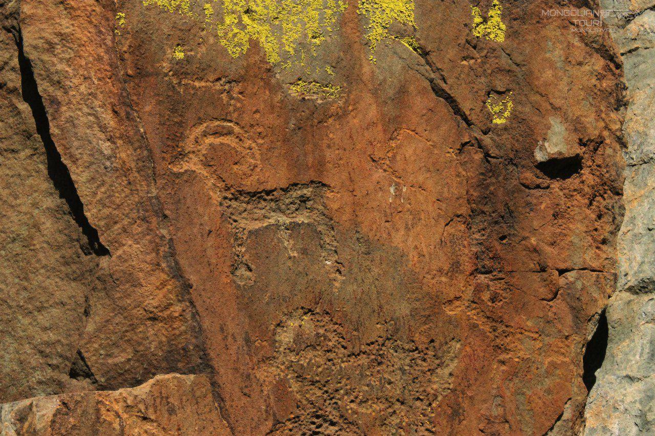 Наскальная живопись, Алтай, фото
