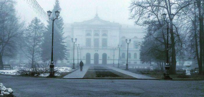 Кусочек природы в городской суете. Университетская роща. Город Томск. Фото: Антон Харин.