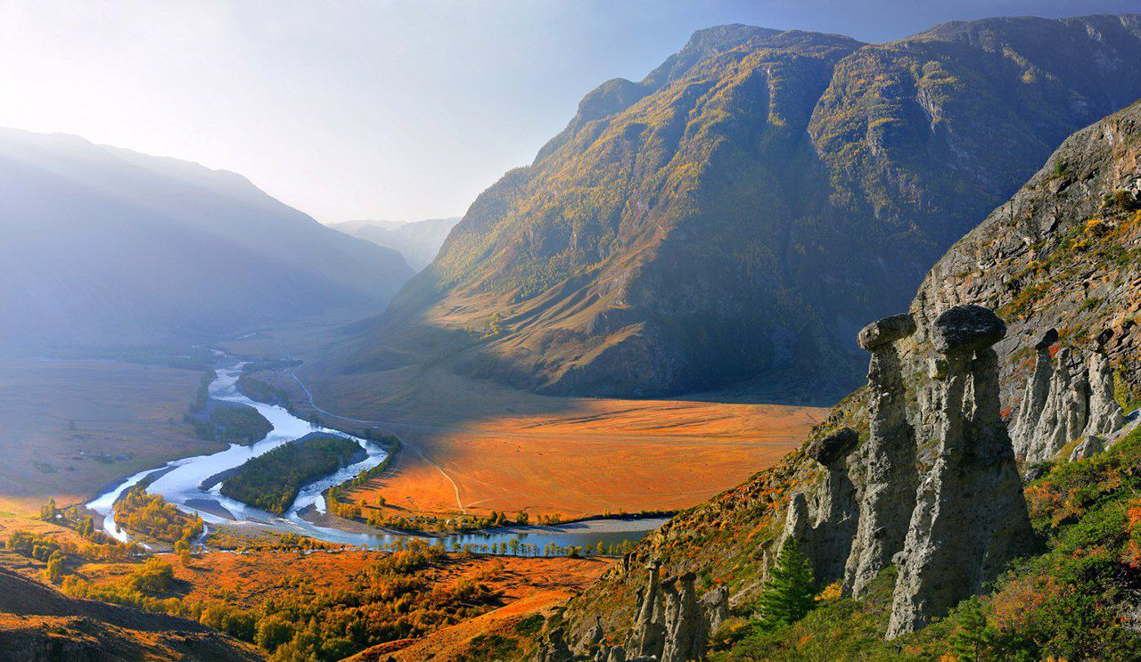 Алтай, Улаганский район, Река Чулышман, фото