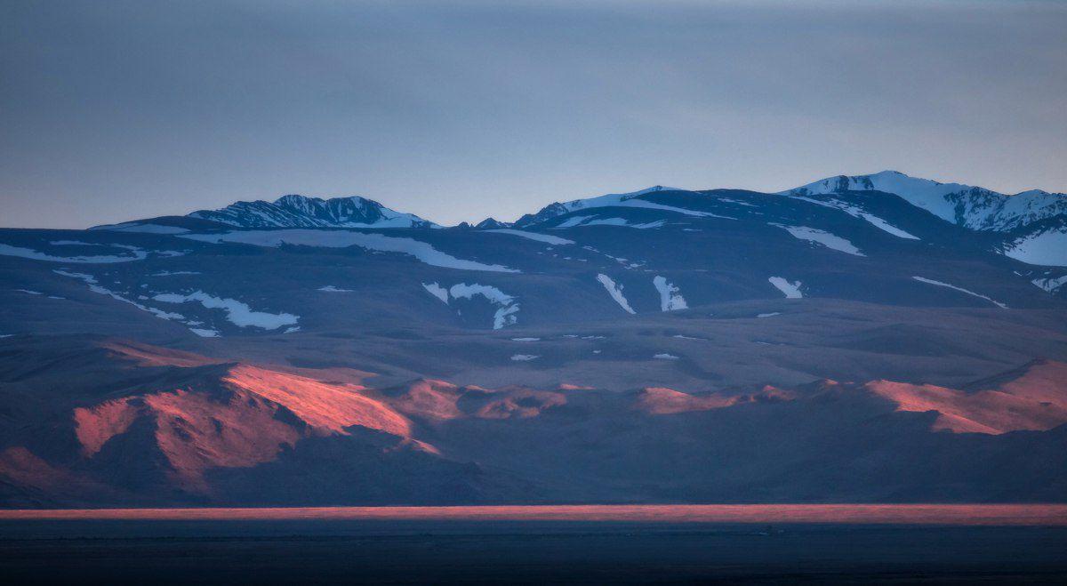 Сайлюгемский закат, Республика Алтай, Фото