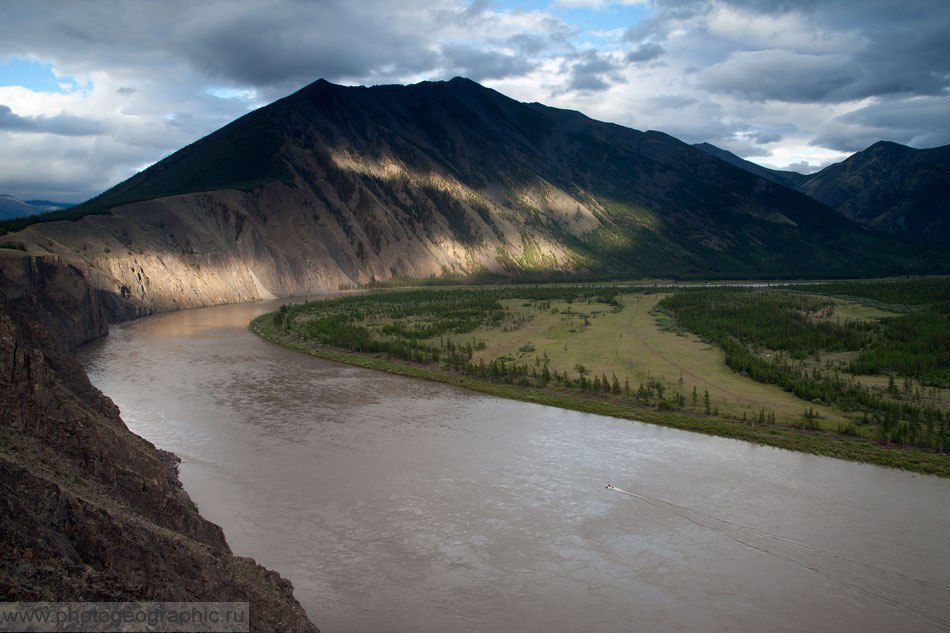 Река Иньяли, Якутия