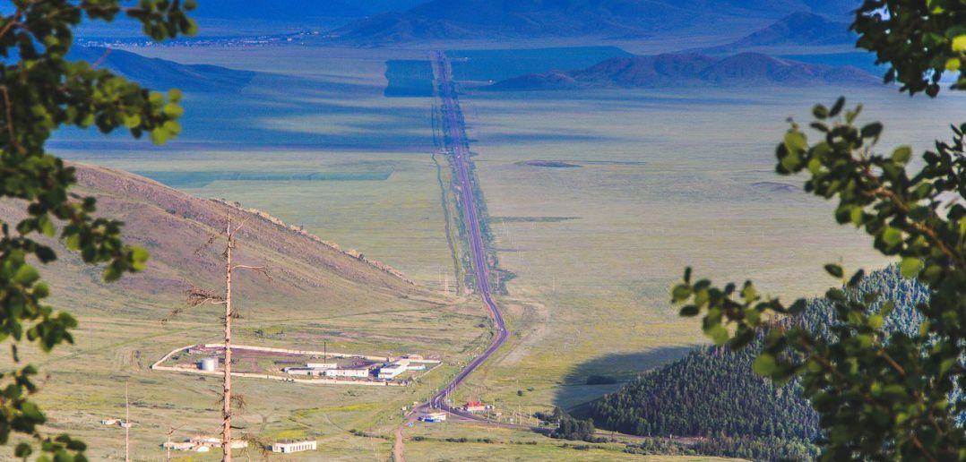 Дорога, Кызыл, Тыва, фото
