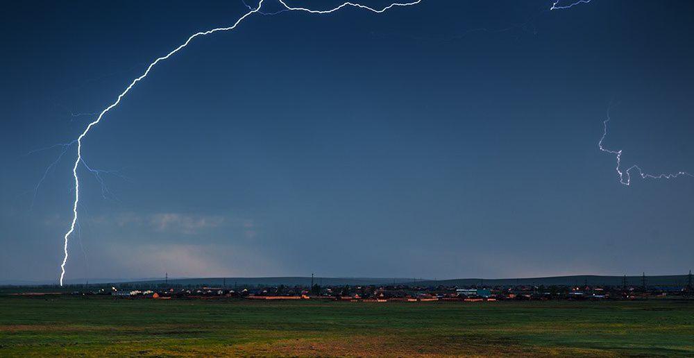 Гроза, Иркутск, Фото