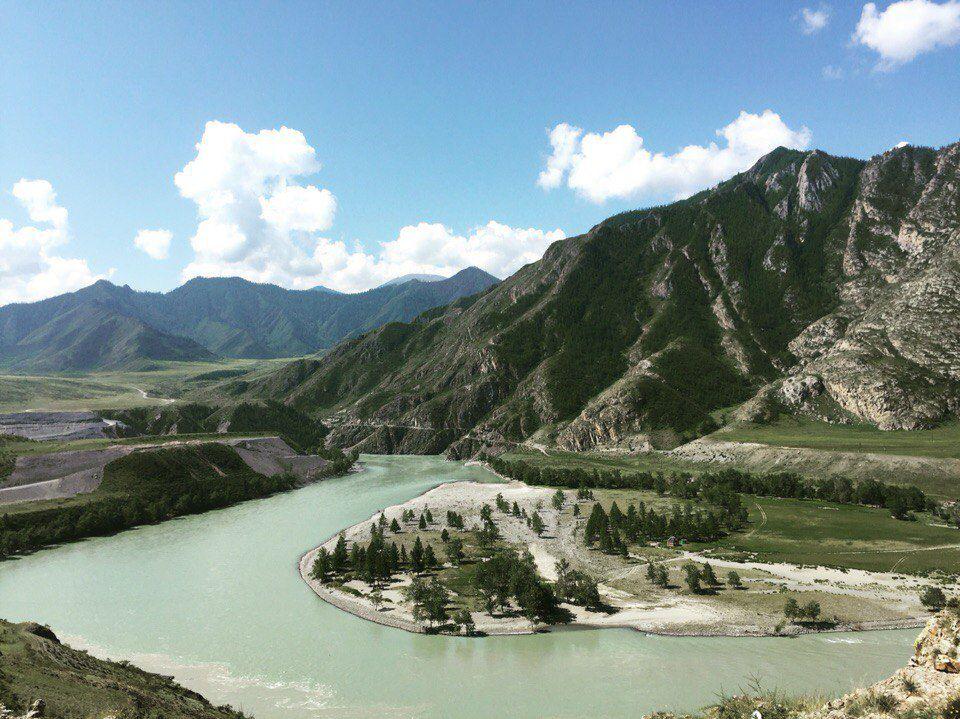 Чуя, Катунь, Республика Алтай, фото