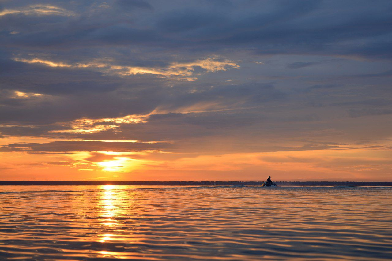 Обское море, Новосибирское водохранилище, Искитимский район, Новосибирская область, фото