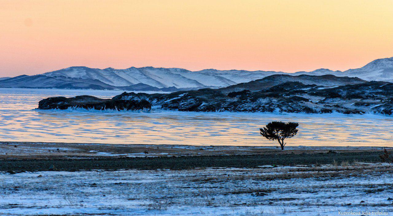 Байкал, Малое море, Мыс Уюга, Фото
