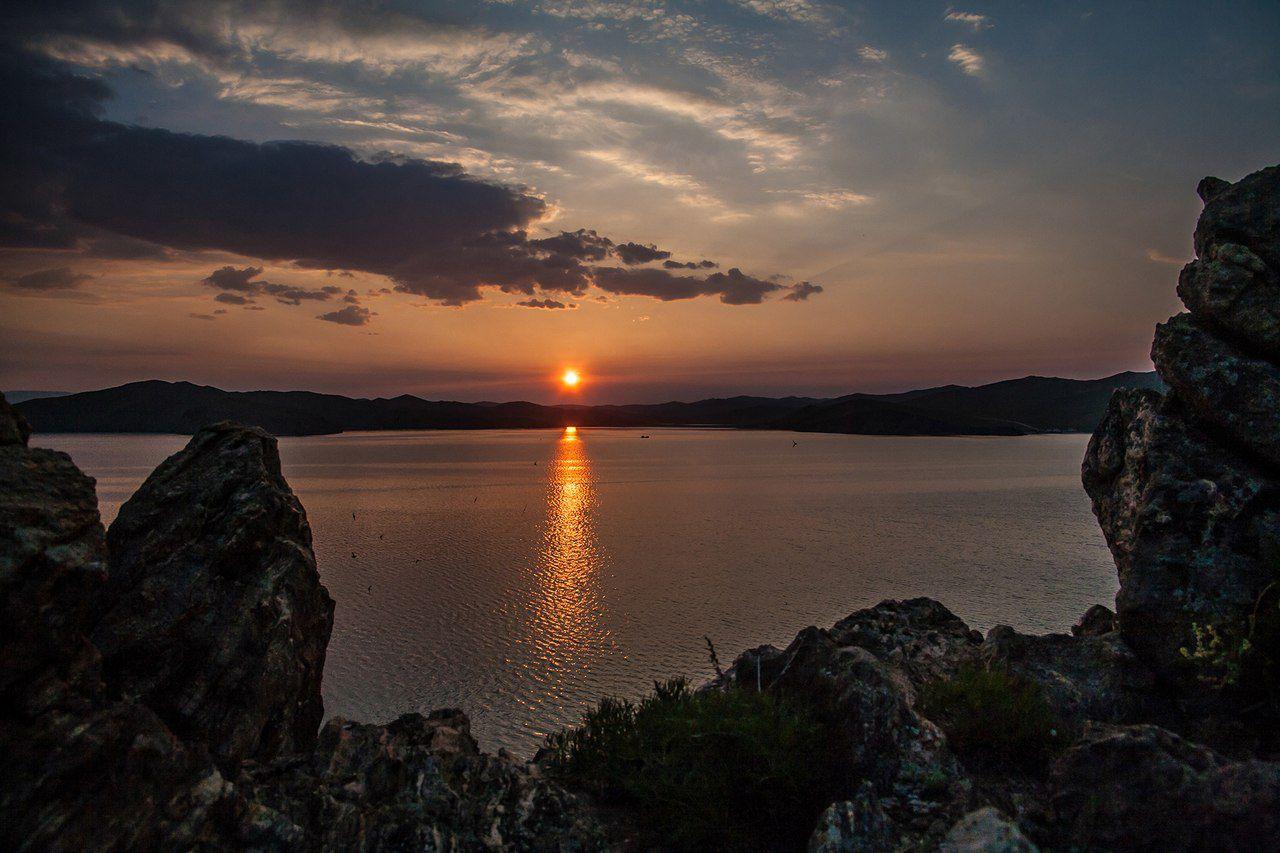 Рассвет, Сахюрта, Иркутская область, фото