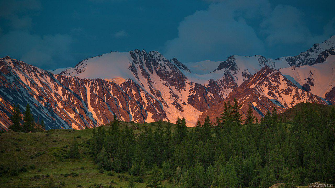 Рассвет, Алтай, Фото