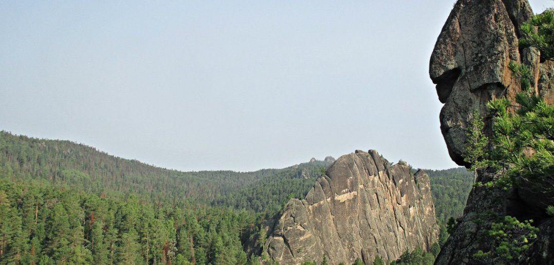 Скалы, Манская Стенка, Манская Баба, Столбы, Красноярск, фото